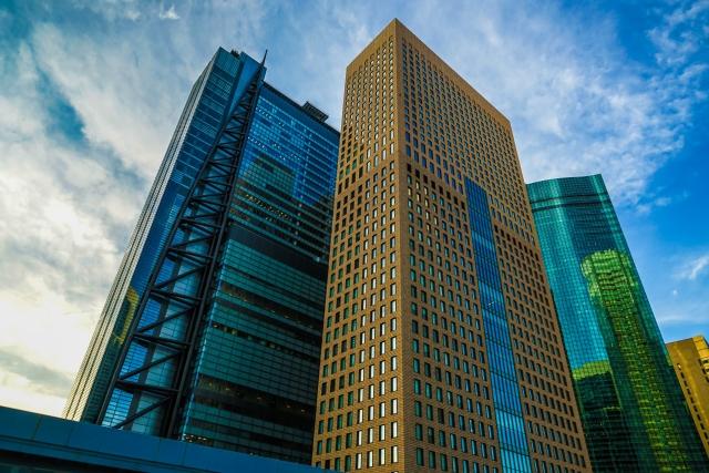 高層ビルが3棟